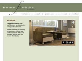 Furniture Solutions Website