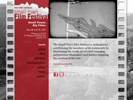 Small Town Film Festival Website