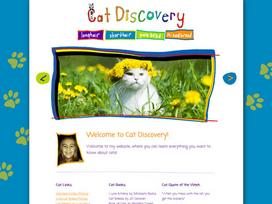 Cat Discovery Website