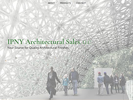 IPNY Architectural Sales Website